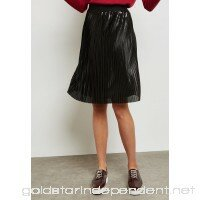 Only black Metallic Pleated Skirt 15144301 ON544AT15OJS - WDE9P0ZQR